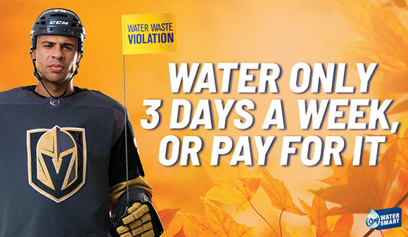 Water only three days a week—or pay for it