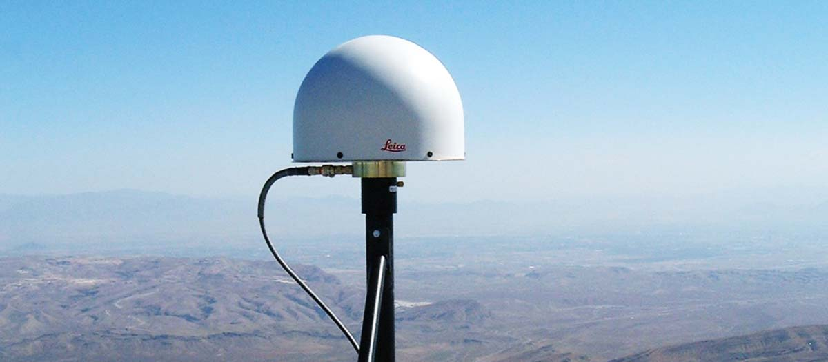 Global Positioning System at Mt. Potassi base station