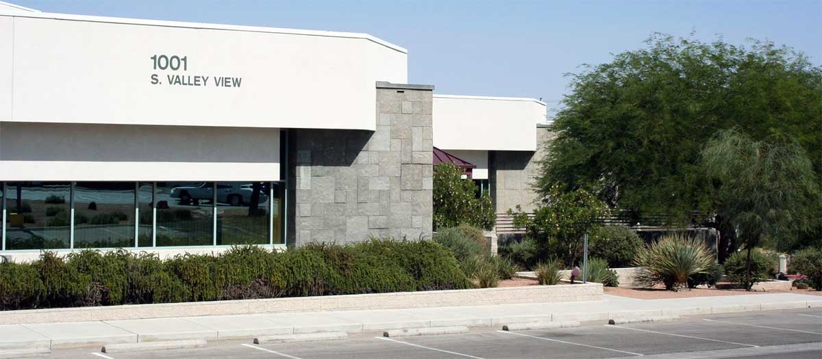 main LVVWD building entrance